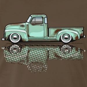 47-54 advance LtGreen truck - Men's Premium T-Shirt