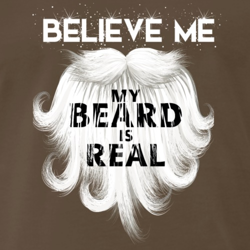 christmas_t_shirt_beard_tshirt - Men's Premium T-Shirt