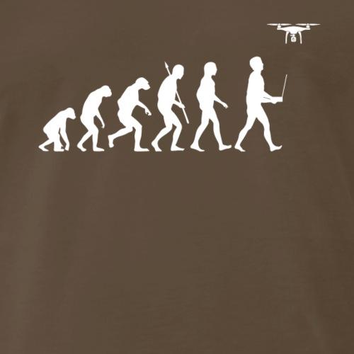 Evolution of Man - Drone Edition - Men's Premium T-Shirt