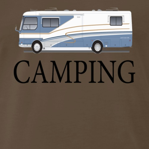 Winnie Camping - Men's Premium T-Shirt