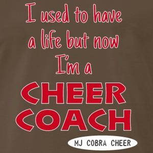 Cobra Cheer Coach - Men's Premium T-Shirt