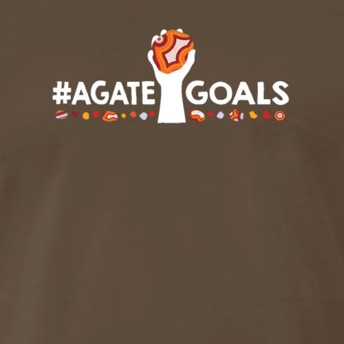 #AgateGoals Agate Goals - Men's Premium T-Shirt