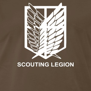 Attack on Titan Tee Scouting Legion Anime - Men's Premium T-Shirt