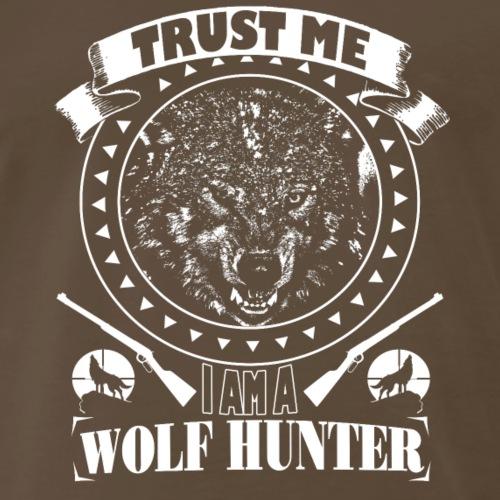 WOLF HUNTER - Men's Premium T-Shirt