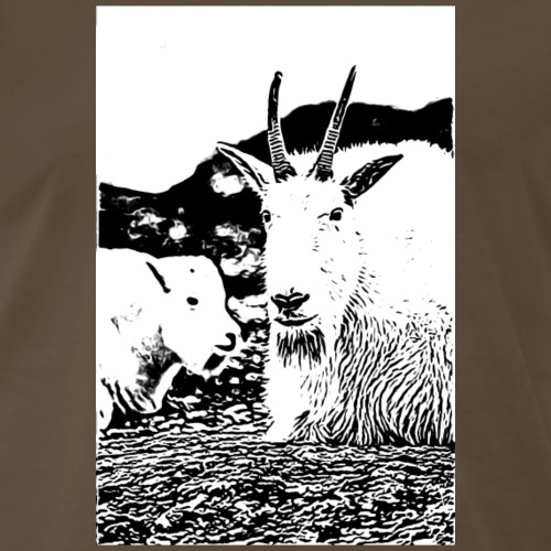 Mountain Goats - Men's Premium T-Shirt