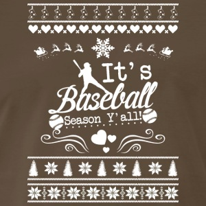 Merry Christmas Baseball T Shirt - Men's Premium T-Shirt
