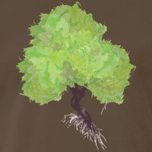 Watercolor Tree - Men's Premium T-Shirt