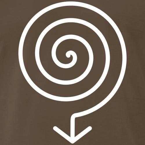 ARIS - grounding (variable colors!) - Men's Premium T-Shirt