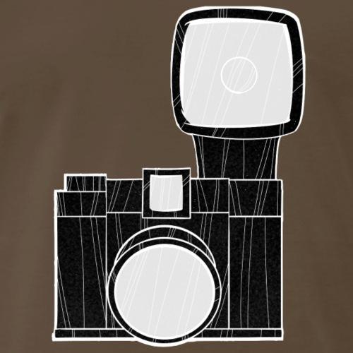 diana camera black - Men's Premium T-Shirt