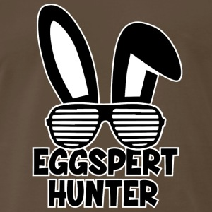 Eggspert Hunter Easter Bunny with Sunglasses - Men's Premium T-Shirt