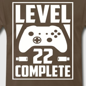 Level 22 Complete - Men's Premium T-Shirt