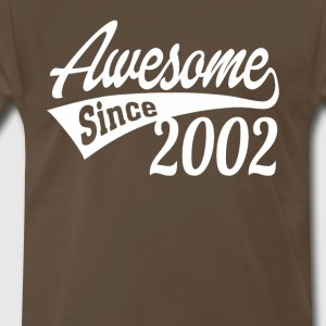 Awesome Since 2002 - Men's Premium T-Shirt