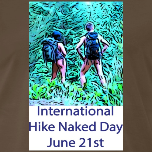 International Hike Naked Day - Men's Premium T-Shirt