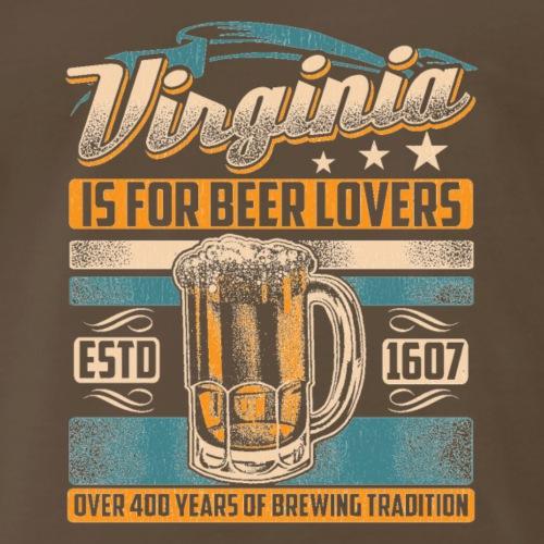Virginia Is For Beer Lovers - Men's Premium T-Shirt