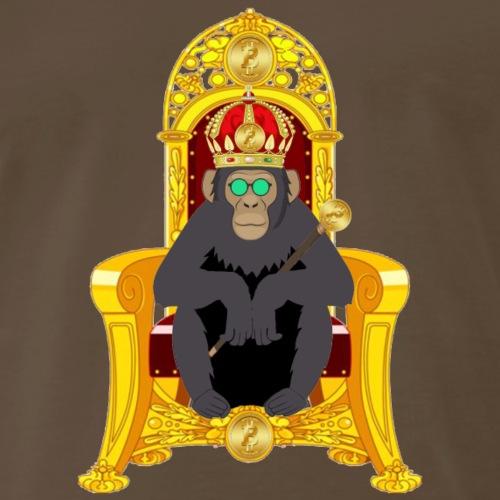 Bitcoin Monkey King - Alpha Edition - Men's Premium T-Shirt