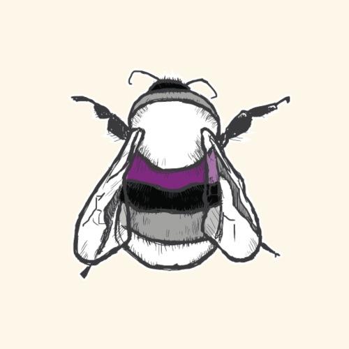 Asexual Bee - Men's Premium T-Shirt