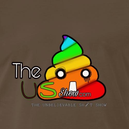 The US Show - Gummi Fudgeit Logo 1 - Men's Premium T-Shirt