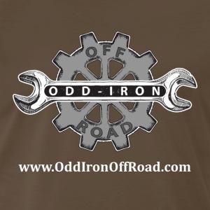 OIOR lrg logo web address front 07 25 2017 - Men's Premium T-Shirt