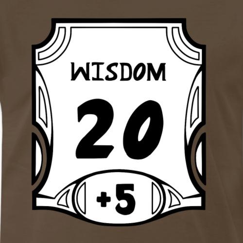 Alternate All of the Wisdom - Men's Premium T-Shirt