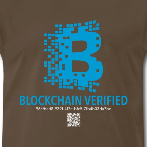 Blockchain Verification Tshirt Cold wallet Crypto - Men's Premium T-Shirt
