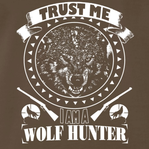WOLF HUNTER - Men's Premium T-Shirt