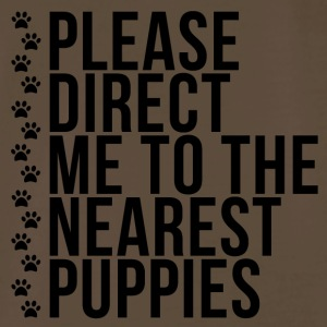 Please Direct Me to the Nearest Puppies - Men's Premium T-Shirt