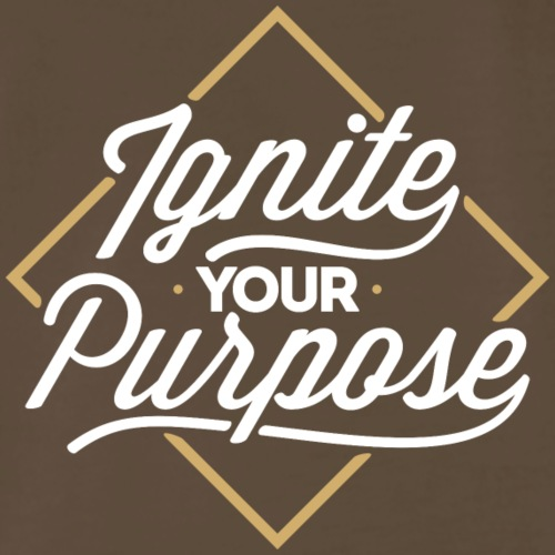 Ignite Your Purpose Diamond Design - Men's Premium T-Shirt