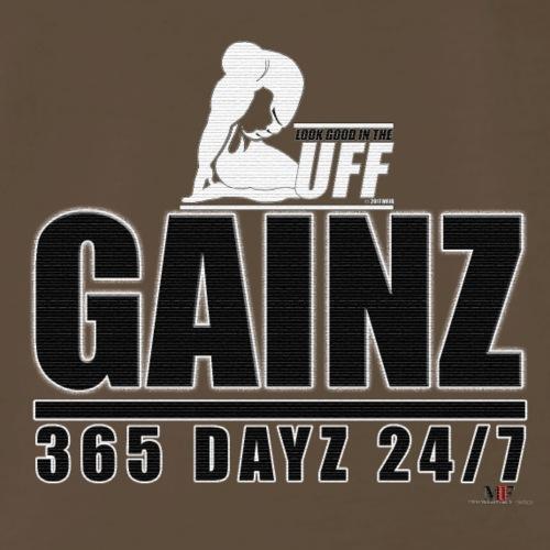 GAINZ 365 DAYZ - Men's Premium T-Shirt