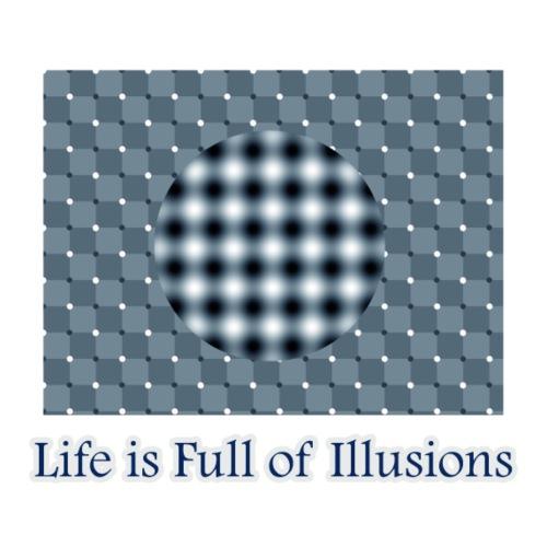 Optical illusion (Moving picture) - Men's Premium T-Shirt