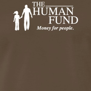 he Human Fund Money For People - Men's Premium T-Shirt
