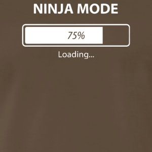 Ninja Mode Loading - Men's Premium T-Shirt