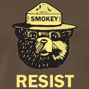Smokey Says Resist Official - Men's Premium T-Shirt