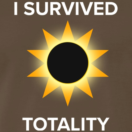 I Survived Totality - Men's Premium T-Shirt