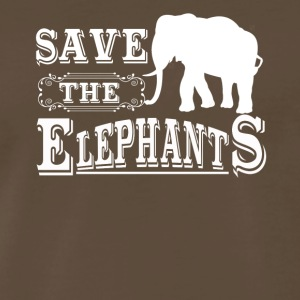 Save The Elephants Shirt - Men's Premium T-Shirt