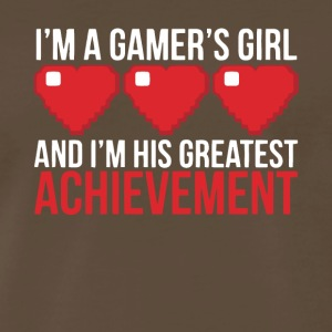 I'm A Gamer's Girl T Shirt - Men's Premium T-Shirt