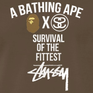 BapexStussy Limited Edition - Men's Premium T-Shirt