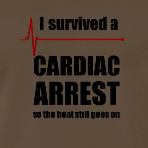 Cardiac Arrest Survivor - Men's Premium T-Shirt
