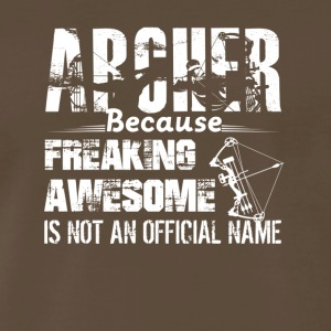 Awesome Archer Tee Shirt - Men's Premium T-Shirt
