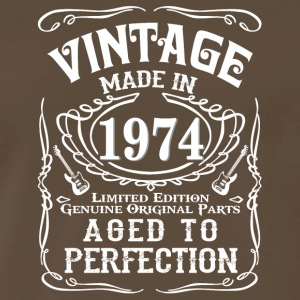 Vintage Made in 1974 Genuine Original Parts - Men's Premium T-Shirt