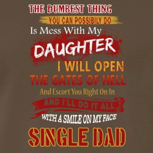 Single Dad Tee Shirt - Men's Premium T-Shirt