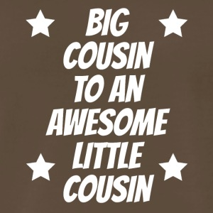 Big Cousin To An Awesome Little Cousin - Men's Premium T-Shirt