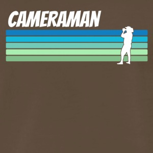 Retro Cameraman - Men's Premium T-Shirt