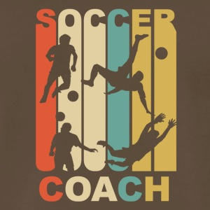 Vintage Soccer Coach Graphic - Men's Premium T-Shirt