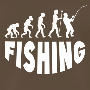 Fishing Evolution - Men's Premium T-Shirt