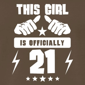 This Girl Is Officially 21 - Men's Premium T-Shirt