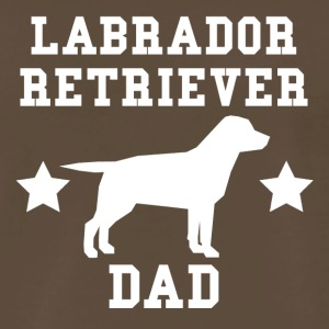 Labrador Retriever Dad - Men's Premium T-Shirt