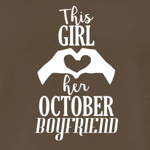 This Girl loves her October Boyfriend - Men's Premium T-Shirt