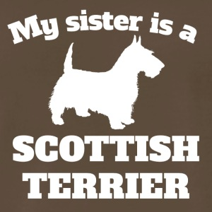 My Sister Is A Scottish Terrier - Men's Premium T-Shirt