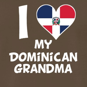 I Heart My Dominican Grandma - Men's Premium T-Shirt