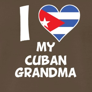 I Heart My Cuban Grandma - Men's Premium T-Shirt